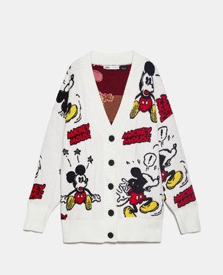 chaqueta punto Mickey mouse Zara