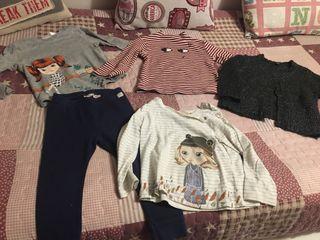 Lote ropa niña 18/24 meses