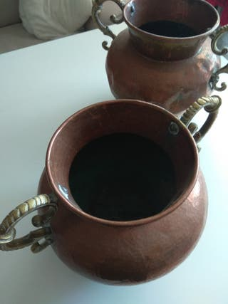 Ollas de cobre,años 40