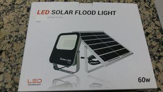 portátil led solar