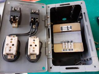 Antiguo Transformador (caja fuerte contenedora)