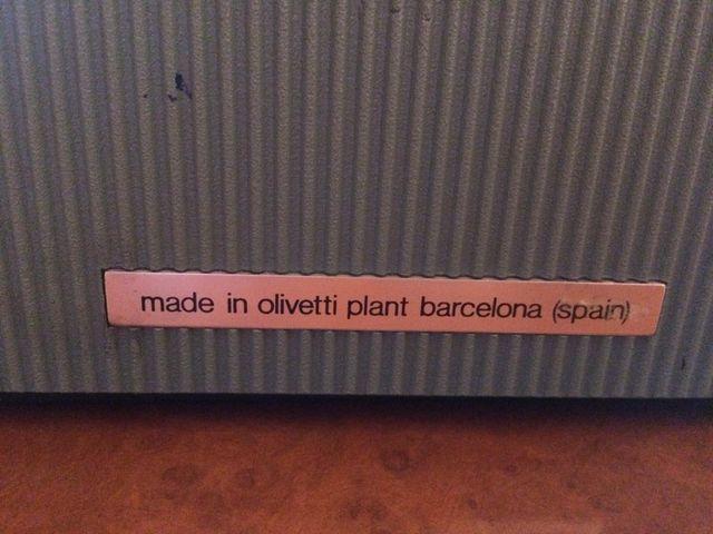 Máquina de escribir Vintage Olivetti Lettera32