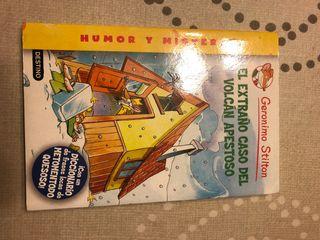 Pack 4 libros Geronimo Stilton.