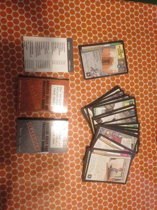 Expediente X juego de cartas