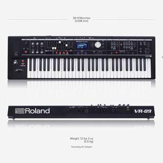 Roland v-Combo VR-09 Teclado Sintetizador