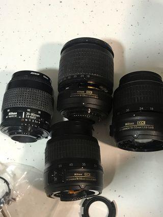 Objetivos Nikon para piezas o reparar