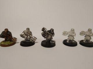 Gimly varios modelos Warhammer ESDLA