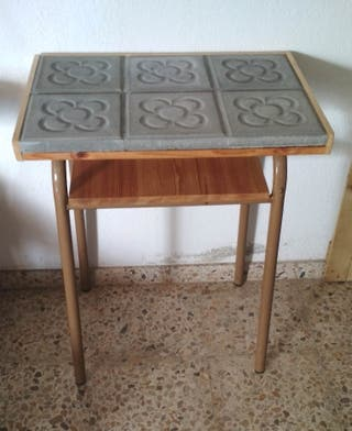 mesa panot flor barcelona