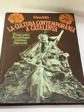 """Vendo libro""""La Cultura Contemporánea en Catalunya"""""""