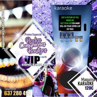 maquina Karaoke