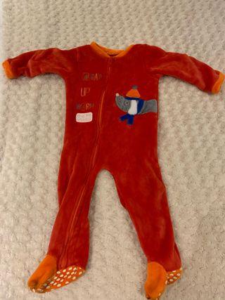 Pijama de una pieza niño