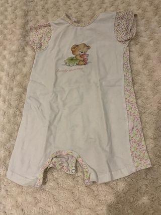 Pijama niña de una pieza