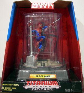 Marvel Heroes Spiderman Titanium Series Die-Cast