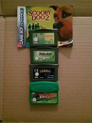 Game boy Advance Juegos