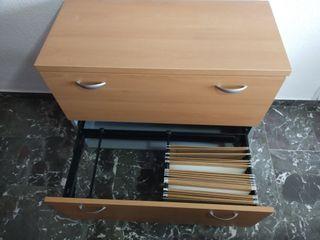 Mueble de oficina,cajonera para carpetas colgantes