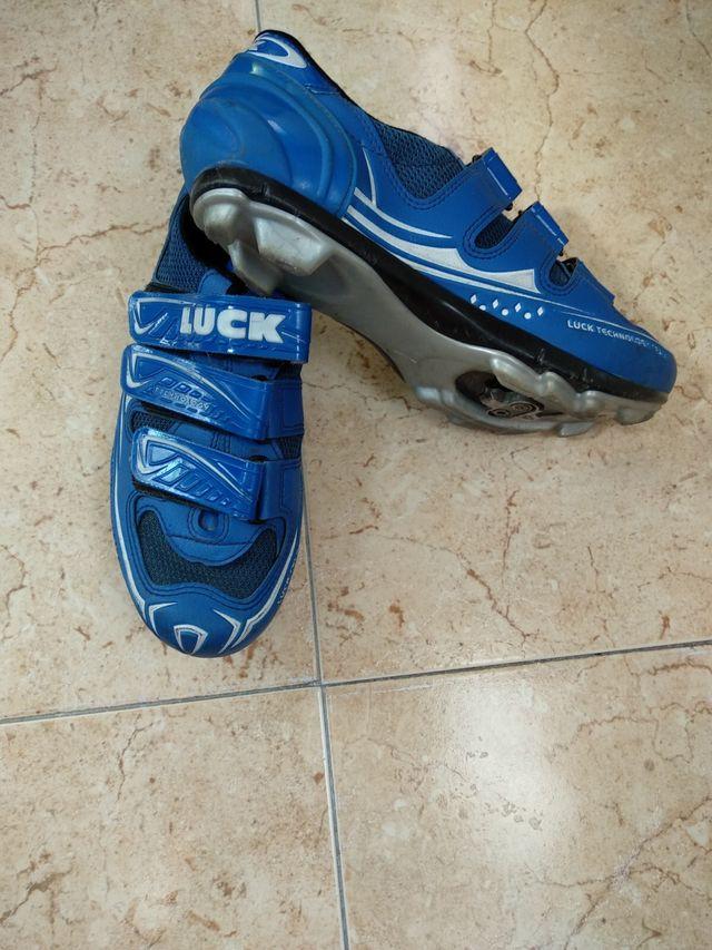 Zapatillas bicicleta LUCK