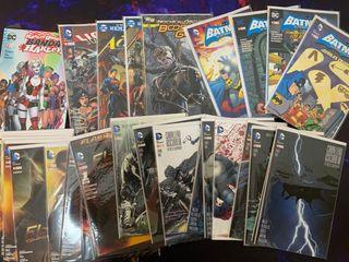 Dc comics lote ecc Batman Superman flash