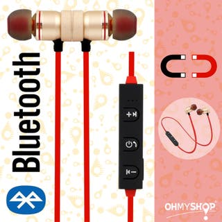 Auriculares Bluetooth Magnéticos Cascos Deportivos