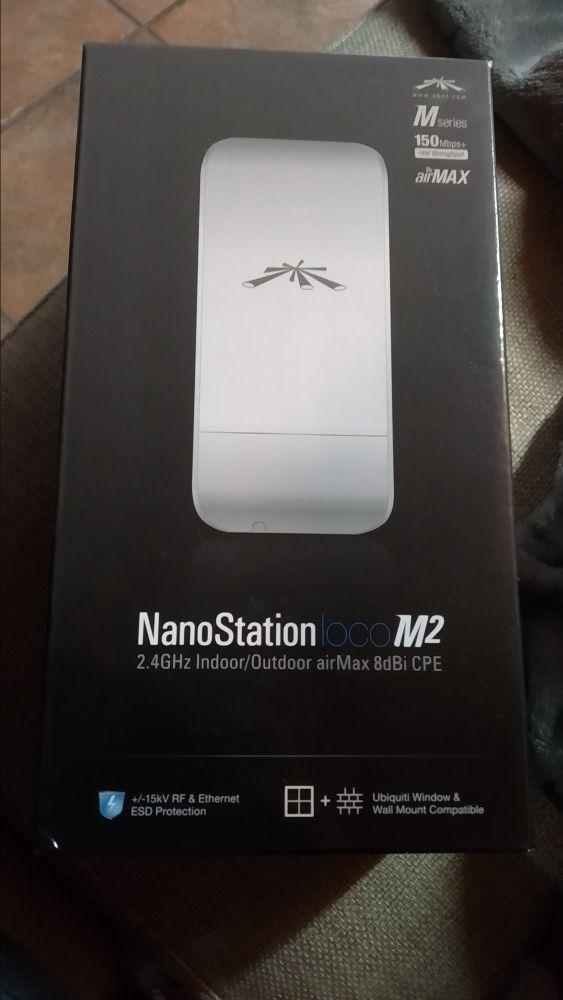 antena ubiquiti nanostation loco m2