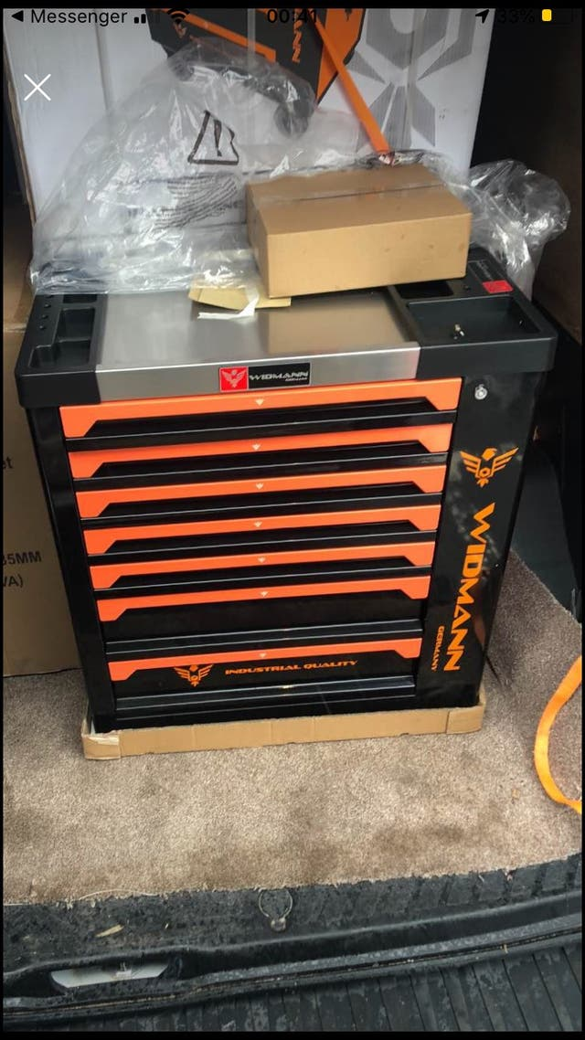 Tool Trolley box