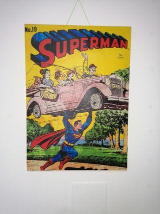 Cuadro de Superman