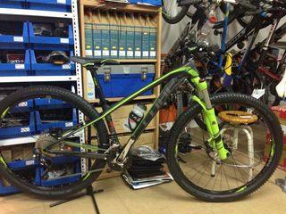 bici carbono se vende por no usar
