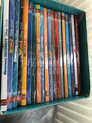 Colección Disney Pixar cuento+película