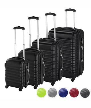 Set 4 piezas maletas ABS juego de maletas de viaje
