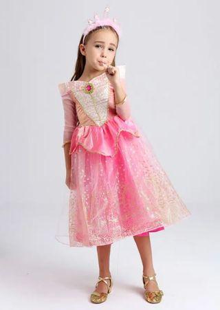 Disfraz Rosa niña NUEVO con etiquetas