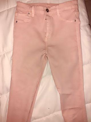 pantalon rosa palo 36