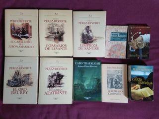 Lote libros Arturo Pérez Reverte