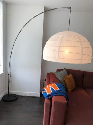 Lámpara caña regulable