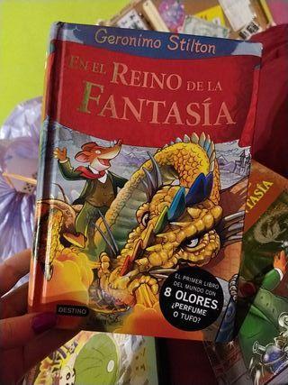Viaje al Reino de la fantasía de Geronimo Stilton