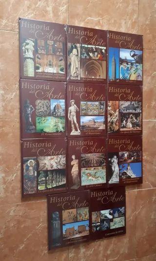 Colección libros y dvd historia del arte