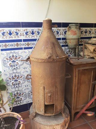 Tostadora café antigua- hierro