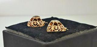 pendientes victorianoes 1840-18090 Diamantes