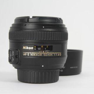 OBJETIVO NIKON AF-S NIKKOR 50MM F/1.4G E338162