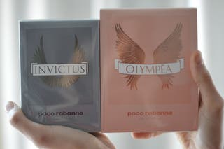 PACK PERFUMES INVICTUS Y OLYMPEA DE PACO RABANNE