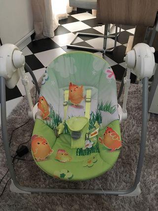 Hamaca - Columpio eléctrico para bebes