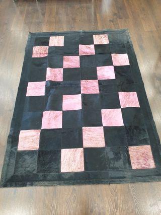 alfombra piel