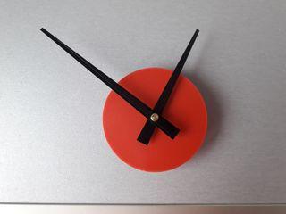 Reloj Pared Rojo