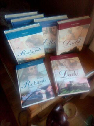 lote novela romántica 7 libros tapa dura
