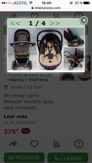 Carro bebeCar ipop