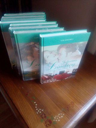 lote novela romántica.del 1 al 8,los malory