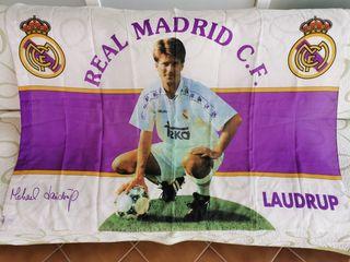 BANDERA REAL MADRID-MICHAEL LAUDRUP