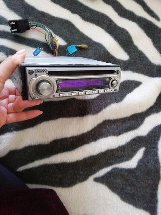 radio CD mp3 kenwood coche