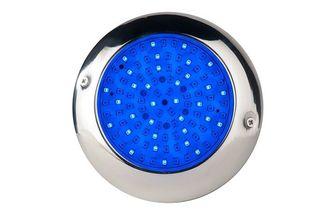 Foco LED RGB 15cm Diametro en Acero Inoxidable
