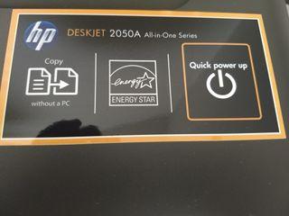IMPRESORA ESCANER HP DESKJET 2050A