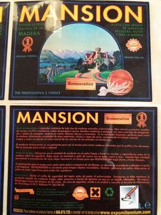MANSIÓN. RESTAURACION