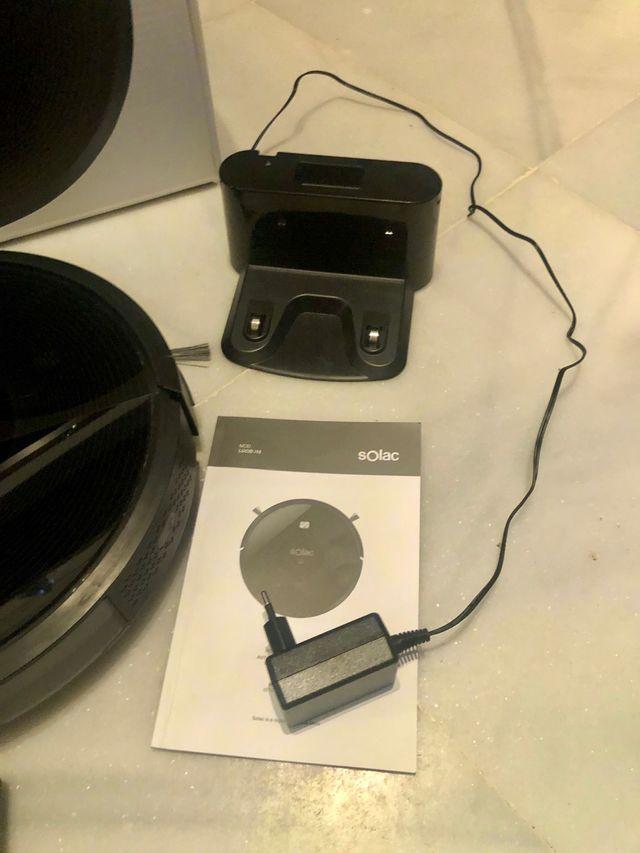 Robot aspiradora fregadora Solac